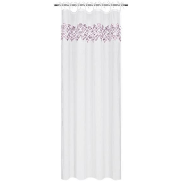 Készfüggöny Agadir 140/245 - Lila/Fehér, Textil (140/245cm) - Mömax modern living