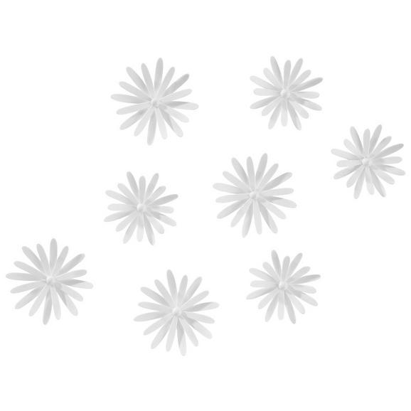Stenska Dekoracija Jule - bela, umetna masa - Mömax modern living