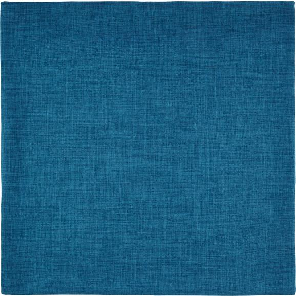 Prevleka Blazine Leinenoptik - turkizna, Konvencionalno, tekstil (60/60cm) - Mömax modern living