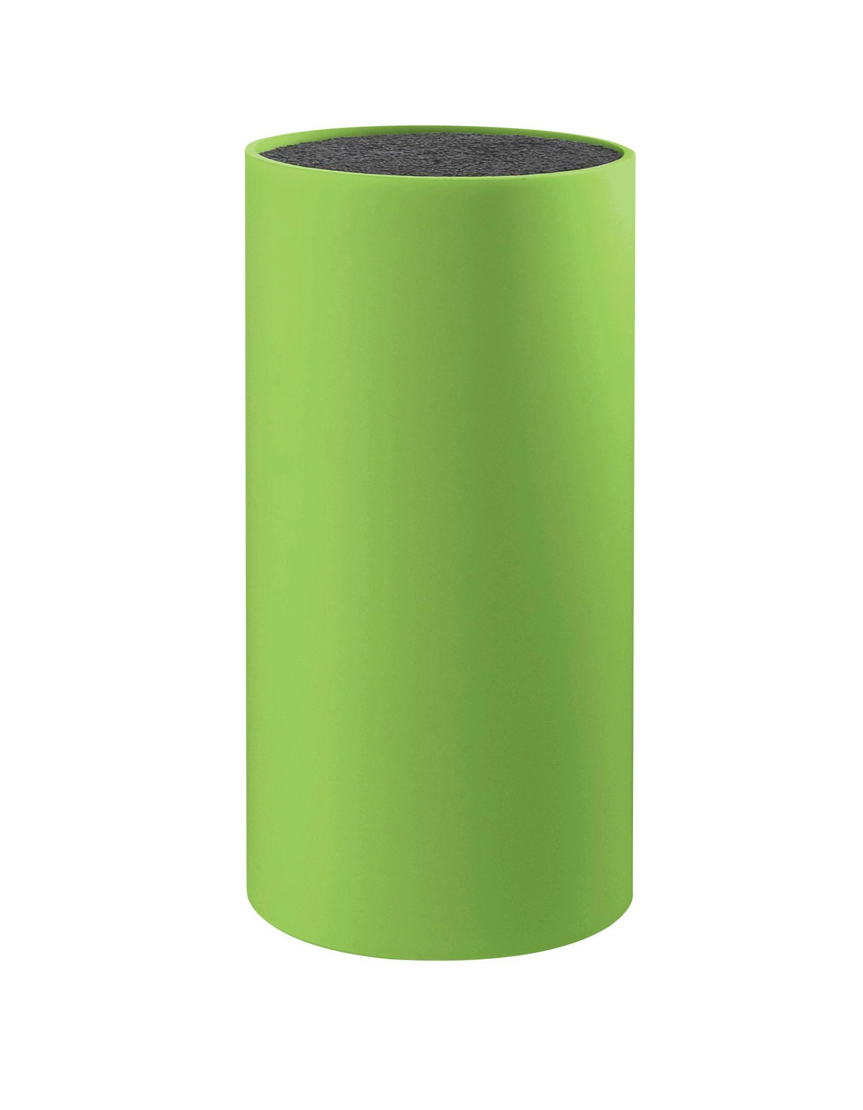 Blok Za Nože Thorsten - zelena, Konvencionalno, umetna masa (11/11/22.5cm) - MÖMAX modern living