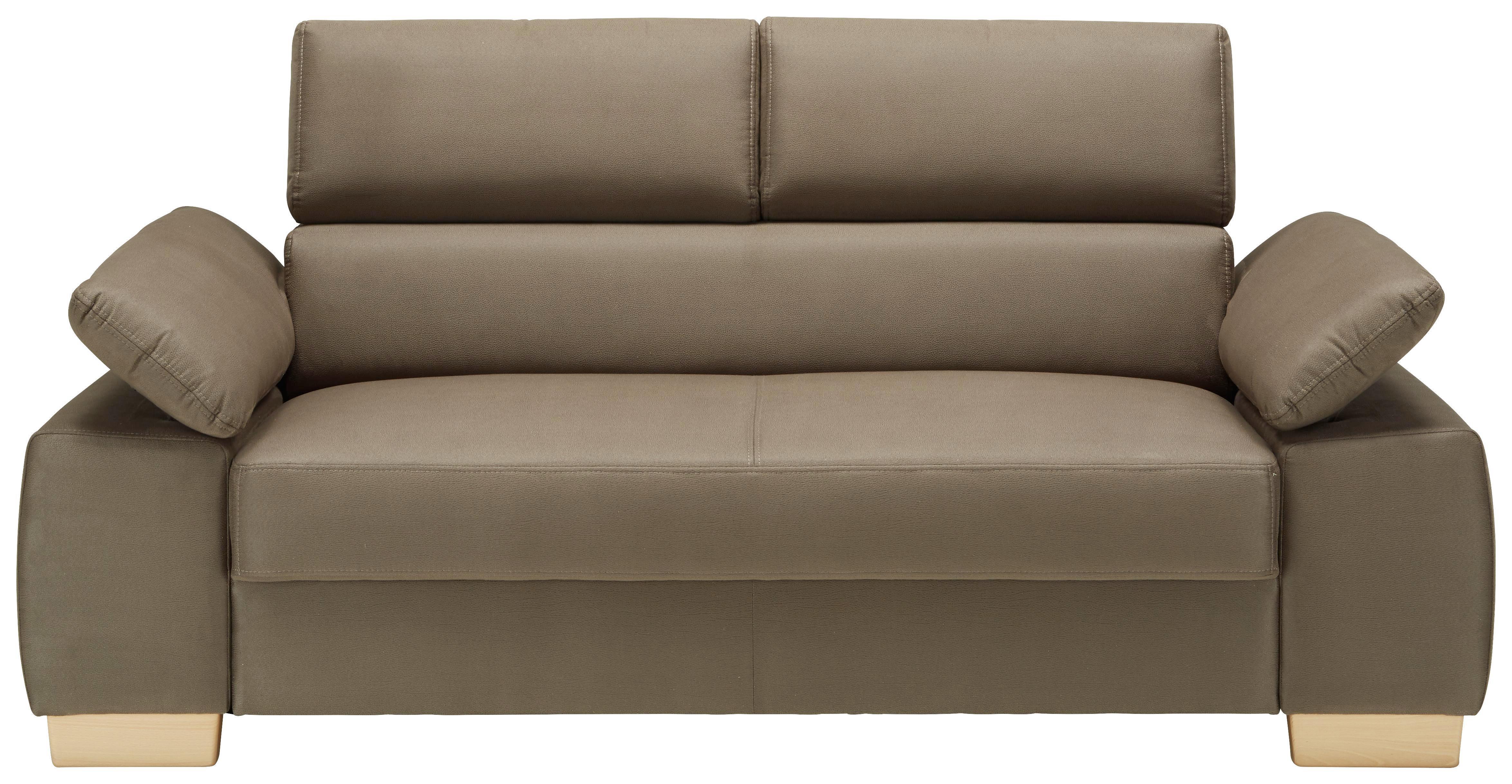 Inspirierend Zweisitzer Schlafcouch Dekoration Von Affordable Braun Eichefarben With Sofa Braun With