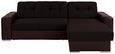 Sjedeća Garnitura Fulton - boje kroma/smeđa, Basics, plastika (260/160cm)