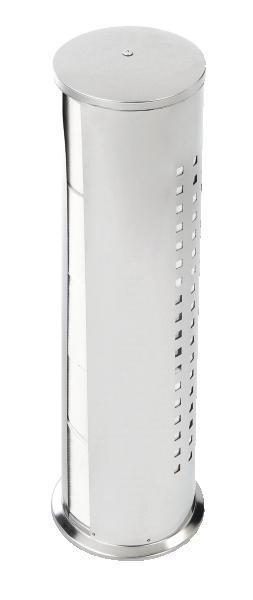 Držalo Za Wc-papir Dring - barve kroma, kovina (13/50/13cm) - MÖMAX modern living