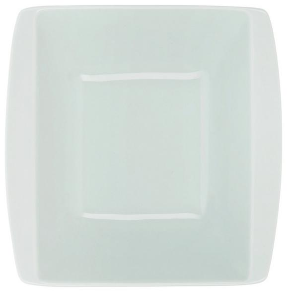 Globoki Krožnik Pura Mint - meta zelena, Moderno, keramika (20,4/20,4cm) - Mömax modern living