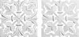Wanddeko Krishna ca. 30x30cm - Weiß, ROMANTIK / LANDHAUS, Holzwerkstoff (30/30cm) - Mömax modern living