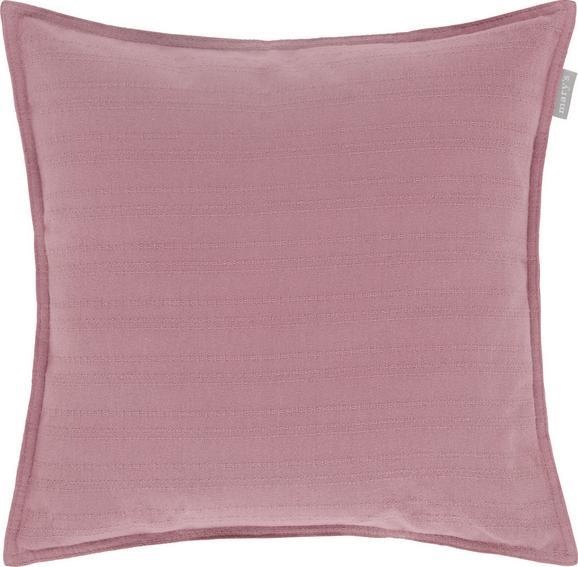 Zierkissen Solid One, ca. 45x45cm - Altrosa, Textil (45/45cm)