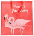 Nakupovalna Torba Flamingo Couple - roza/bela, Moderno, umetna masa (45/47/17,5cm) - Mömax modern living