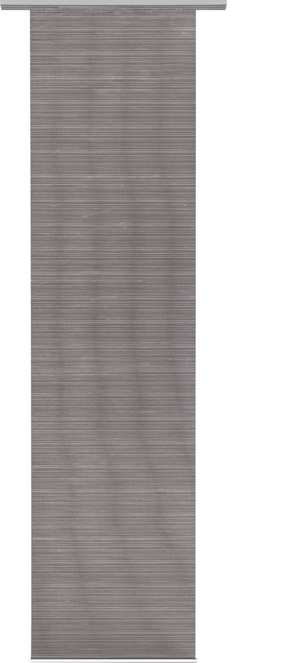 Panelna Zavesa Loft - siva, Moderno, tekstil (60/245cm) - Mömax modern living