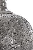 Pendelleuchte Alibaba - Silberfarben, Metall (30/30/75,5cm) - Mömax modern living