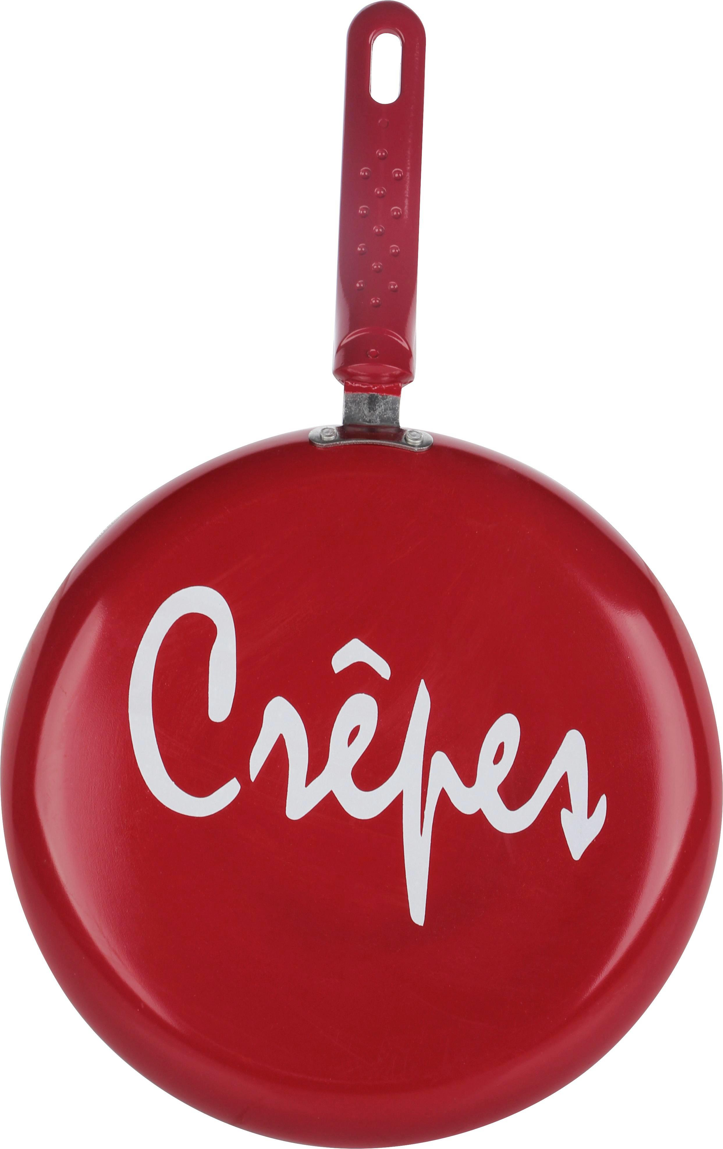 Crepespfanne Sherry in Rot - Rot, Kunststoff/Metall (26/2cm) - MÖMAX modern living