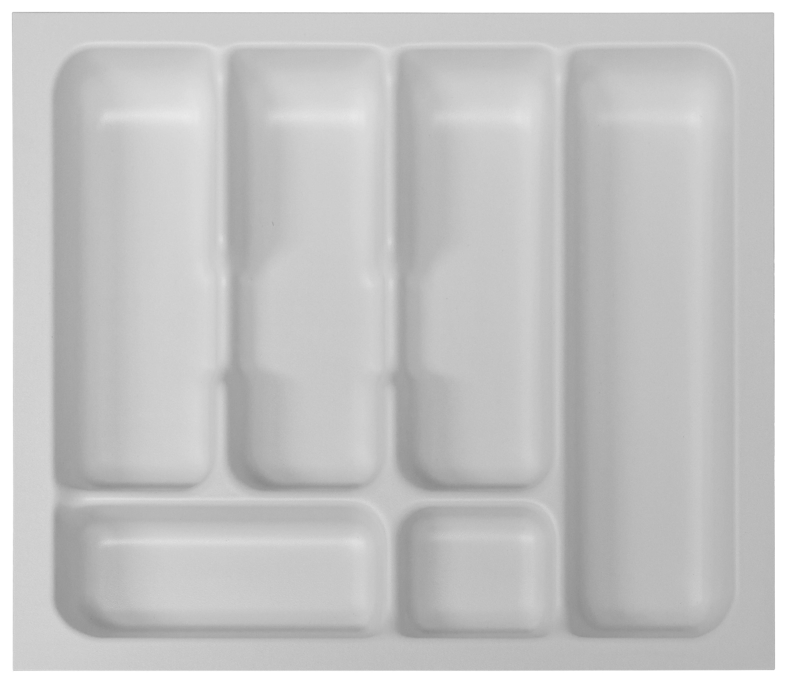 Besteckeinsatz zubehör in Weiß - Weiß, MODERN, Kunststoff