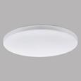 Deckenleuchte Frania mit LED - Weiß, MODERN, Kunststoff/Metall (43/7cm)