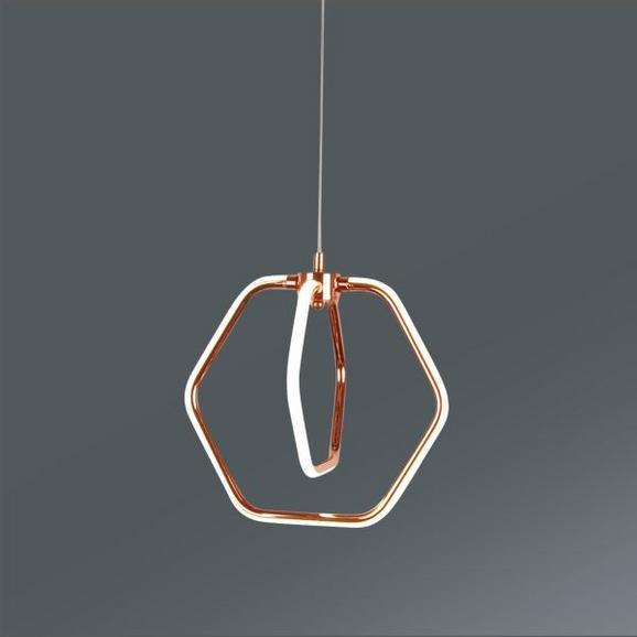 LED-Hängeleuchte Malina, max. 20 Watt - MODERN, Kunststoff/Metall (30,8/136cm) - MÖMAX modern living