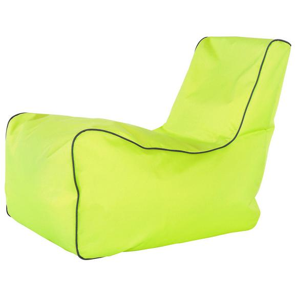 Vreča Za Sedenje Gamer - modra/limeta, Moderno, tekstil (82/70/70cm) - Mömax modern living