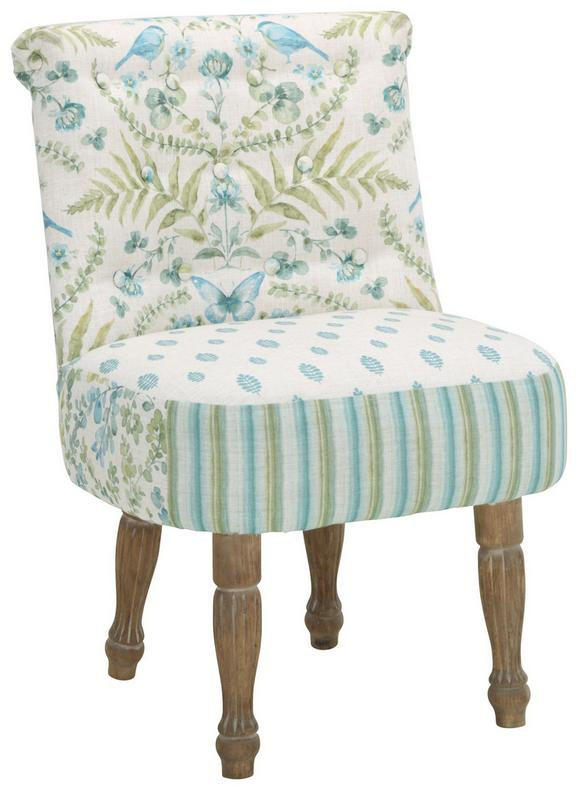 Sessel aus Tanne - Multicolor/Naturfarben, ROMANTIK / LANDHAUS, Holz/Textil (60/55/86cm) - Mömax modern living