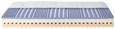 Wendematratze ca. 90x200cm - Textil (90/21/200cm) - Nadana