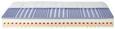 Wendematratze Kaltschaum ca.100x200 cm - Textil (100/200cm) - Nadana