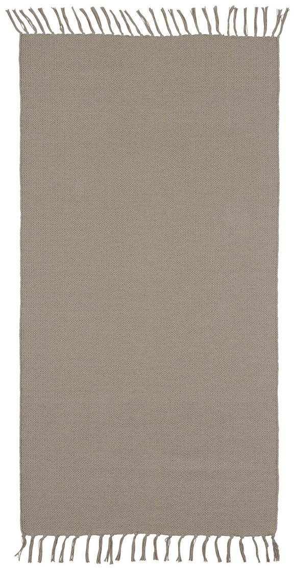 Handwebteppich Rodeo 70x140 cm - Taupe, MODERN, Textil (70/140cm) - Mömax modern living