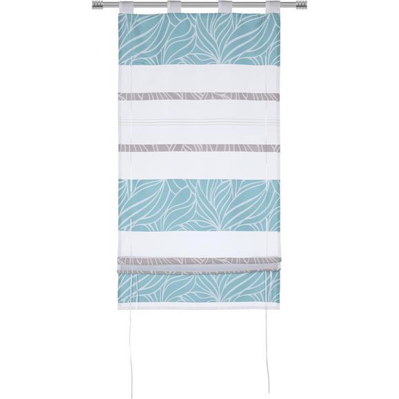 Storuri Romane Anita - albastru, Konventionell, textil (60/140cm) - Modern Living
