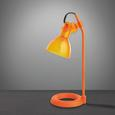 Tischleuchte Aston - Orange, MODERN, Kunststoff/Metall (13,5/19/33cm) - Mömax modern living