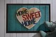 Fußmatte Home Sweet Home 2 40x60cm - Multicolor, MODERN, Textil (40/60cm) - Mömax modern living