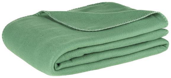 Fleecedecke Trendix Dunkelgrün 130x180 cm - Dunkelgrün, Textil (130/180cm) - Mömax modern living