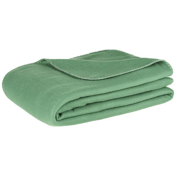Flis Deka Trendix U Tamnozelenoj Boji - tamno zelena, tekstil (130/180cm) - Mömax modern living