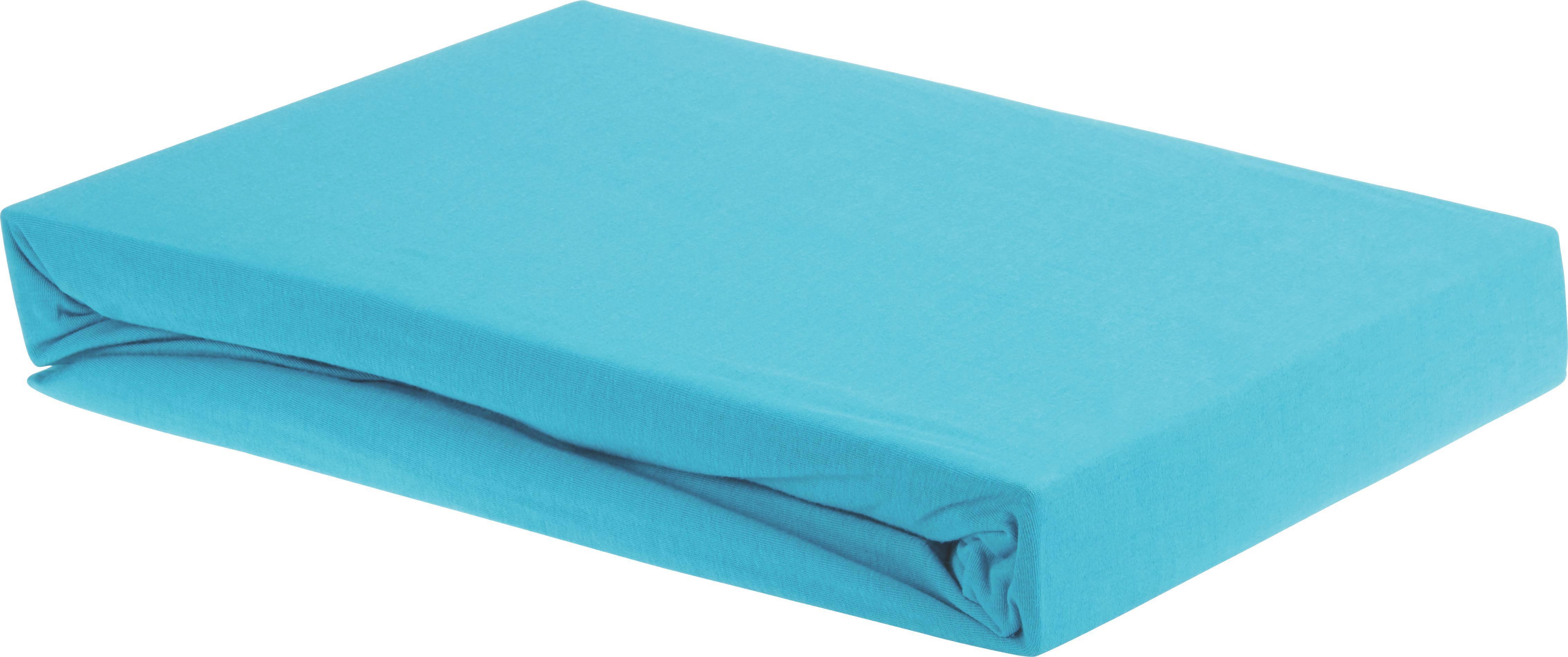 Gumis Lepedő Elasthan - petrol, textil (180/200/28cm) - premium living