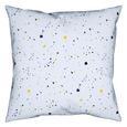 Bettwäsche Sprinkles in versch. Farben - Blau/Gelb, Textil (135/200cm) - Mömax modern living