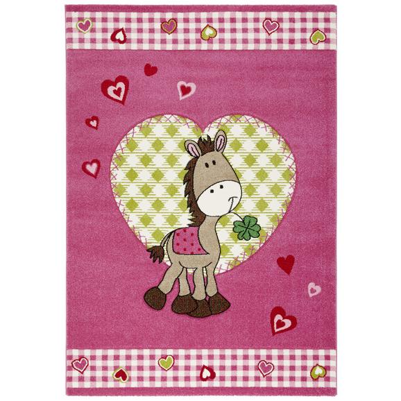 Covor Pentru Copii Pony - roz aprins, textil (120/170cm) - Mömax modern living