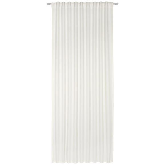 Fertigvorhang Leo Weiß 140x255cm - Naturfarben, Textil (135/255cm) - Premium Living