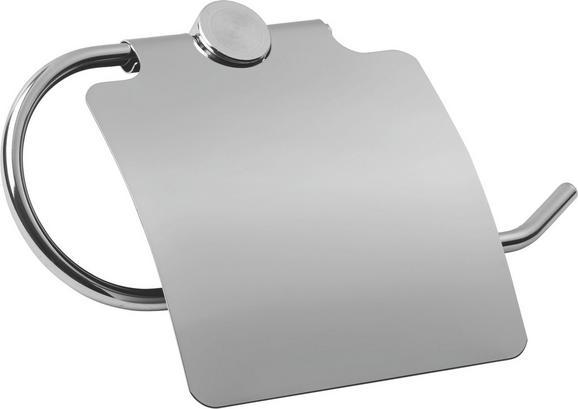 Toilettenpapierhalter Tally - Chromfarben, Metall (19,50/12/5cm) - Mömax modern living