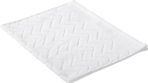 Gästetuch Peter in Weiß-uni - Weiß, Textil (30/50cm) - Mömax modern living