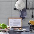 Küchensieb Solveig in Weiß - Weiß, MODERN, Naturmaterialien/Holzwerkstoff (29,7/12cm) - Premium Living