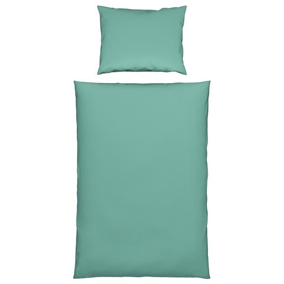 Posteljnina Marion - turkizna, Konvencionalno, tekstil (140/200cm) - Premium Living