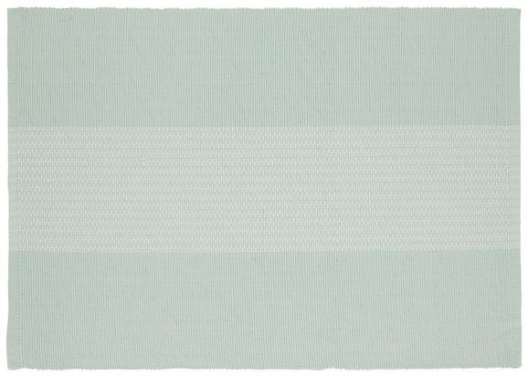 Tischset Lisa in Hellgrün - Hellgrün, MODERN, Textil (33/45cm) - Mömax modern living