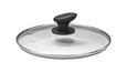 Deckel Pam - Klar/Alufarben, Glas/Kunststoff (24cm) - Premium Living