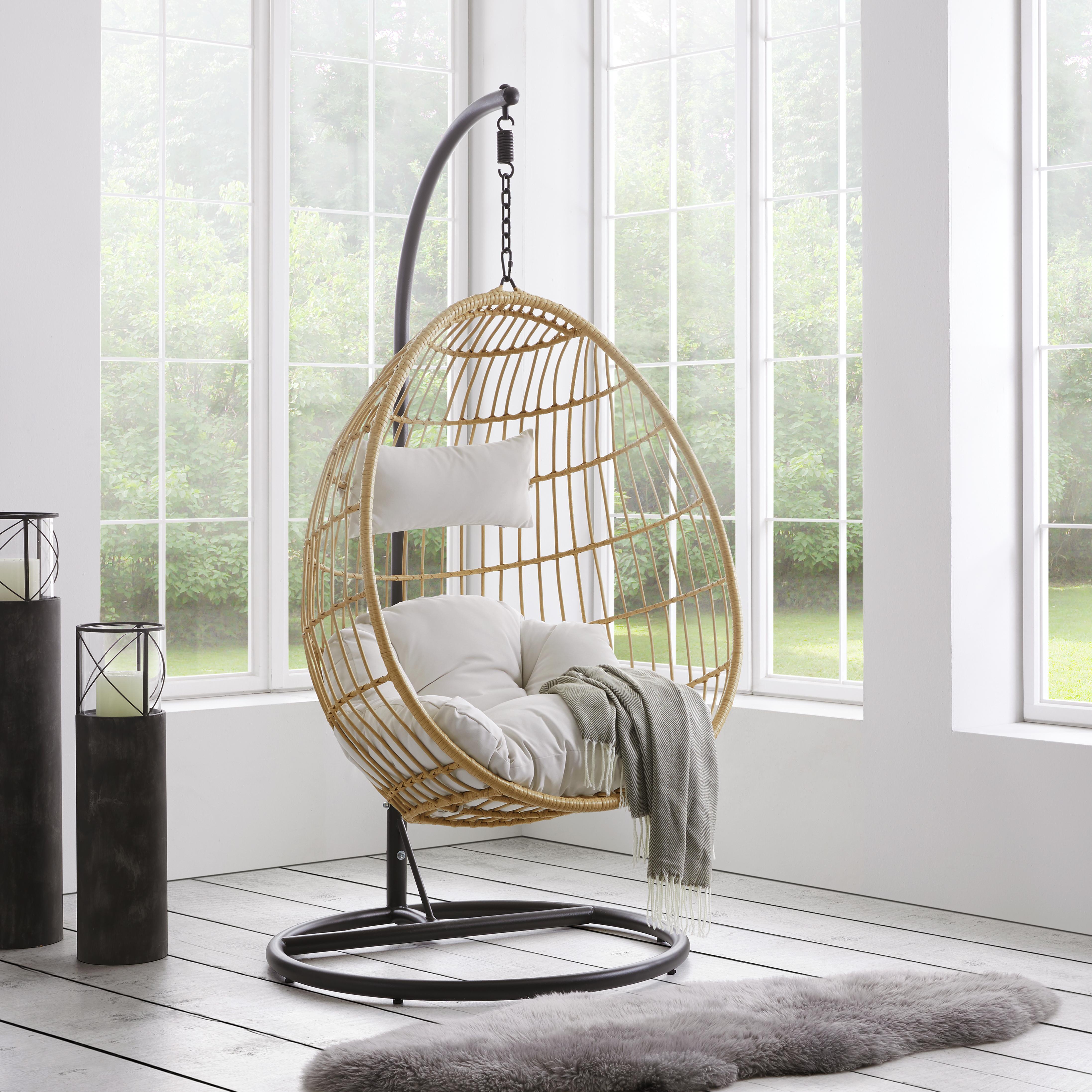 Hängesessel Balkon - Home Ideen