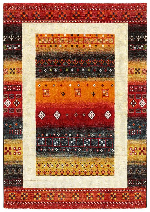 Tkana Preproga Peru - rumena/črna, Trendi, tekstil (160/230cm) - Mömax modern living