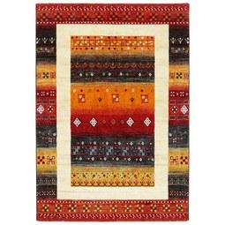 Webteppich Peru Bunt, ca. 80x150cm - Gelb/Beige, LIFESTYLE, Textil (80/150cm) - Mömax modern living