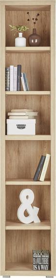 Regal In Sanremo Eiche - MODERN, Holz (44/220/36cm) - Mömax modern living
