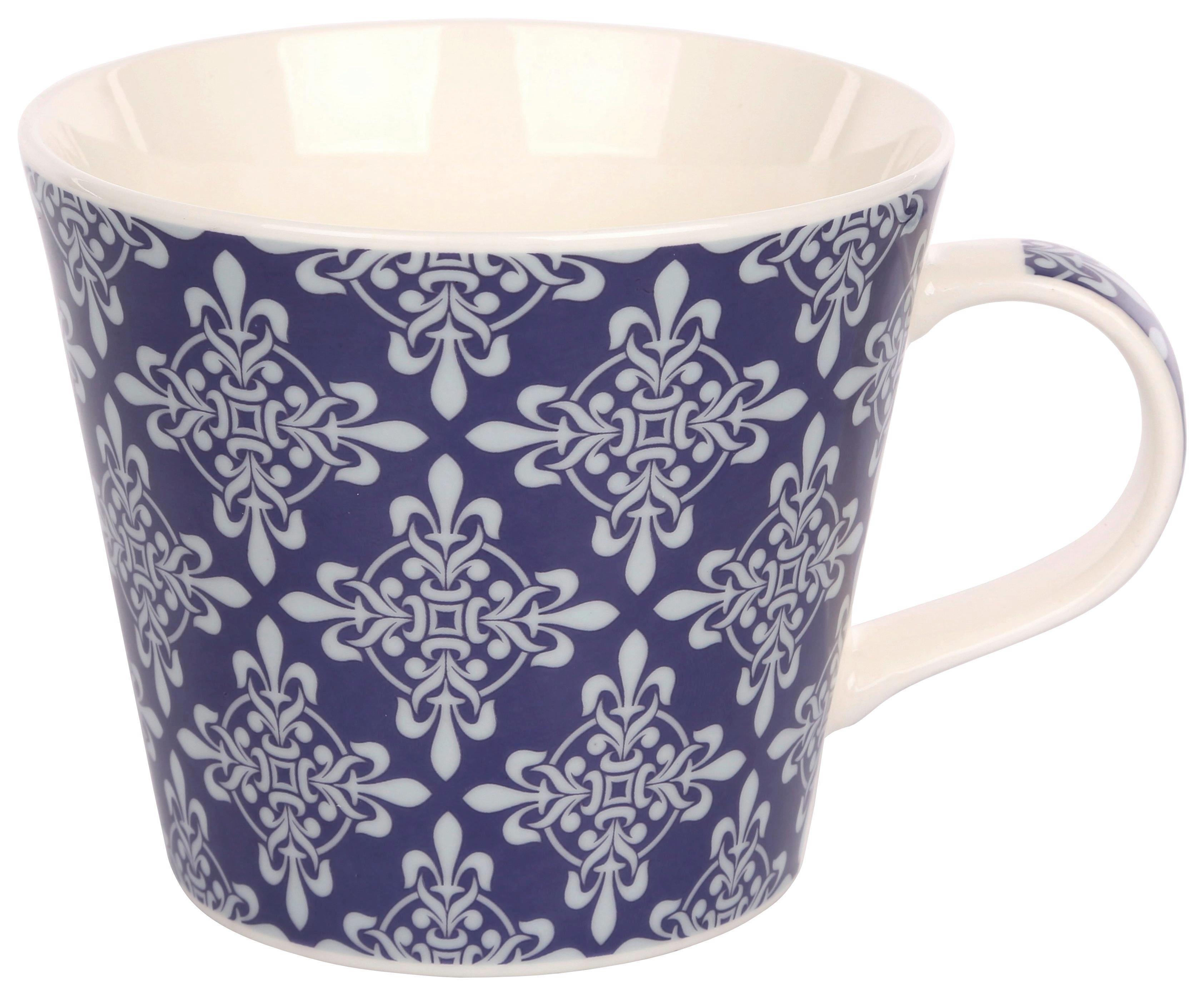 Skodelica Vintage - večbarvno, keramika (0,38l)