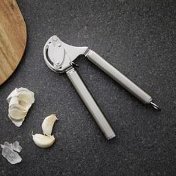 Knoblauchpresse Rösle - Edelstahlfarben, KONVENTIONELL, Metall (20/3,5/5,5cm) - Rösle
