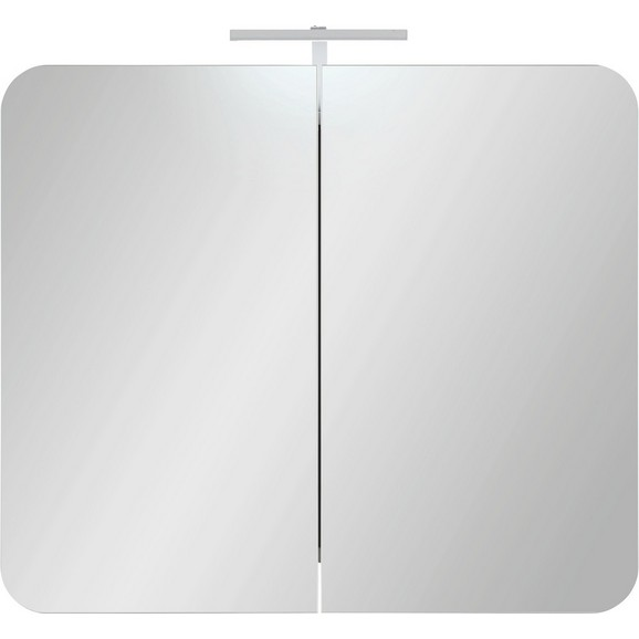 spiegelschrank in wei inkl led flex band online kaufen m max. Black Bedroom Furniture Sets. Home Design Ideas