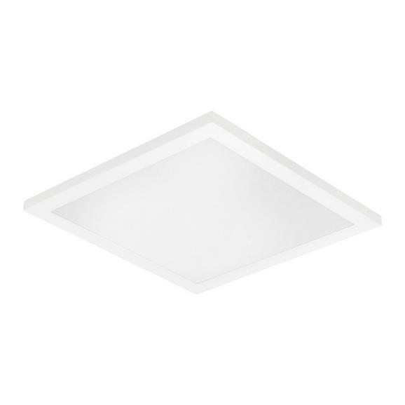 LED-Deckenleuchte Ola max. 12 Watt - Opal/Weiß, LIFESTYLE, Kunststoff/Metall (30/30/6cm) - Modern Living