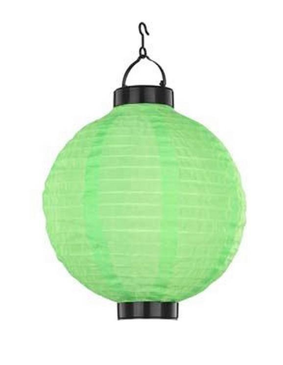 Solarna Svetilka Marcel - črna/zelena, umetna masa (25,4/35,5cm) - Mömax modern living