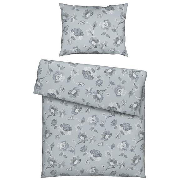 Bettwäsche Irene ca. 140x200cm - Grau, ROMANTIK / LANDHAUS, Textil (140/200cm) - Mömax modern living