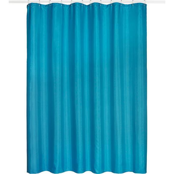 Zavjesa Za Tuš Uni - boje petroleja, tekstil (180/200cm) - Mömax modern living