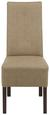 Stuhl Taupe - Taupe, KONVENTIONELL, Holz (44/103/63cm) - Modern Living