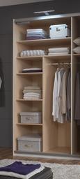 Notranja Razdelitev Dodatek Fresh - siva, les (96/150/50cm) - Mömax modern living